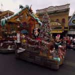 Disneyland at Christmas a really good 360° & 3D experience