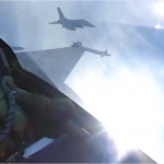 F16: be the pilot of this aerial beast in 360 and 3D