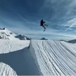 Snowboarding becomes a unique 360 and 3D experience