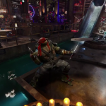 The Teenage Mutant Ninja Turtles invite you to their hideout to live a sample of their abilities in 360