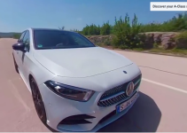 Drive an Mercedes-Benz A-Class 2018 and have the ride of your life
