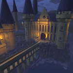Harry Potter School Hogwarts Castle in 360