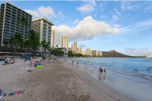 Waikiki Beach 360 video is going to transport you to a paradise