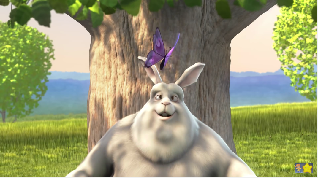 Big Buck Bunny a 3D animated short film that is worth seeing