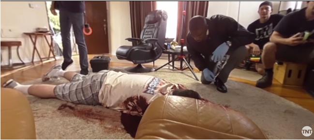 Major Crimes: Behind the scene 360° video