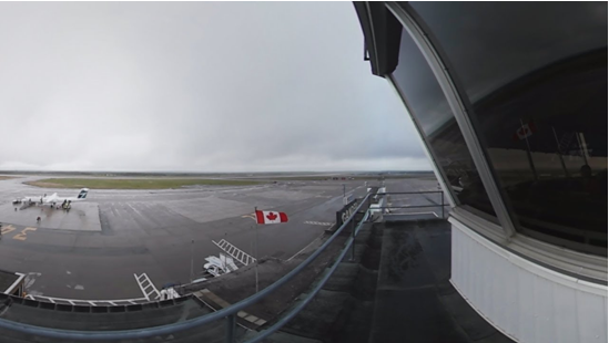 360° Gander International Airport video