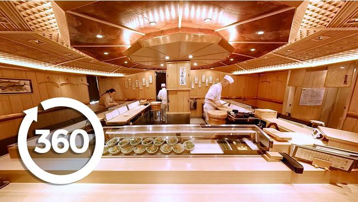 360° Sushi Making Videos