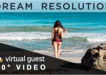 Dream resolution is life through VR