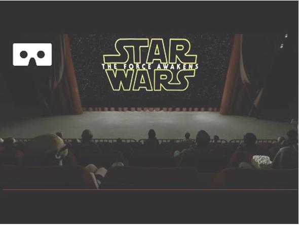Stars Wars the Force Awakens VR trailer