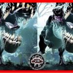 A T-Rex in VR