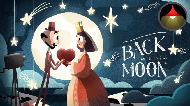 Back to the moon in 360