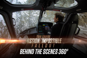 Behind the scenes Mission Impossible Fallout in VR
