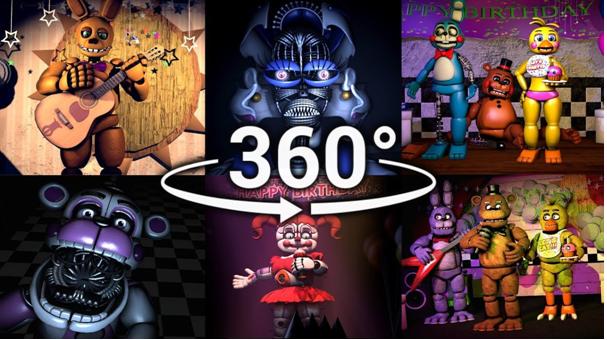 FNAF's compilation in 360