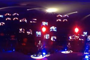 Metallica in a VR concert