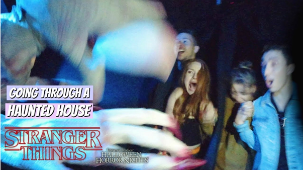 Stranger Things' hunted house tour in VR