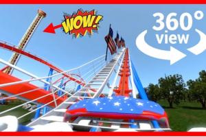 360° Roller Coaster Simulator