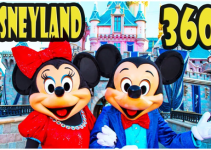 Disneyland tour in 360