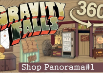 Gravity Falls' Shop in 360°