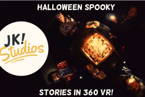 Halloween's scary story in 360° view