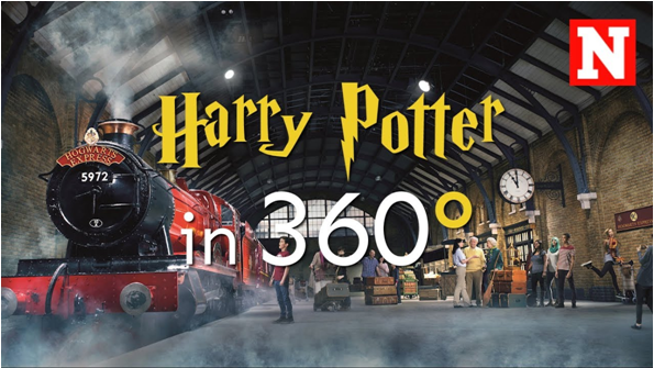 Harry Potter's locations VR video